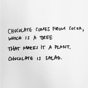 chocolate-is-a-salad