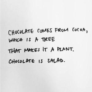 chocolate-is-a-salad